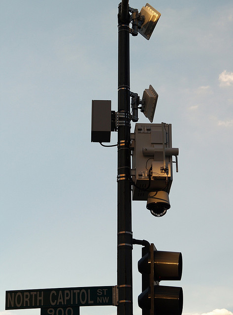 Closed Circuit Camera and shot spotter in Washington DC