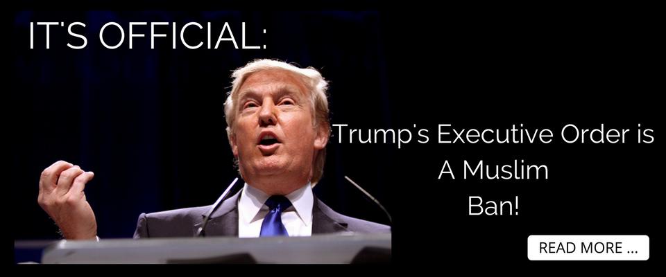 MUSLIM BAN – Trump