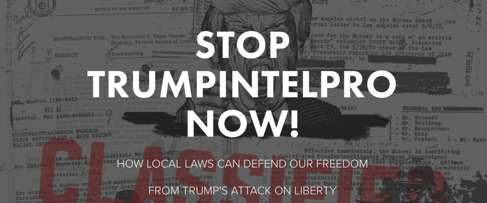 Stop Trump Intelpro