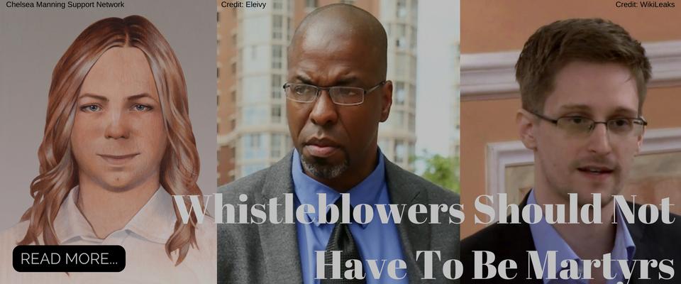 whistleblowers Chelsea Manning, Jeffrey Sterling, Ed Snowden
