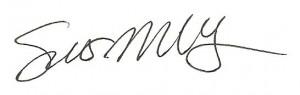 Sue Udry Signature