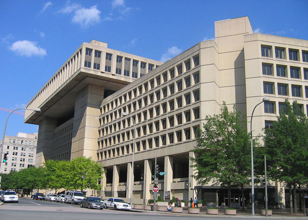 """Fbi headquarters"" by I, Aude. Licensed under CC BY-SA 3.0 via Commons."