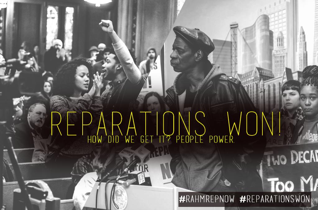 CTJM Reparations Poster