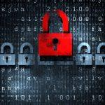 Cybersecurity Padlock