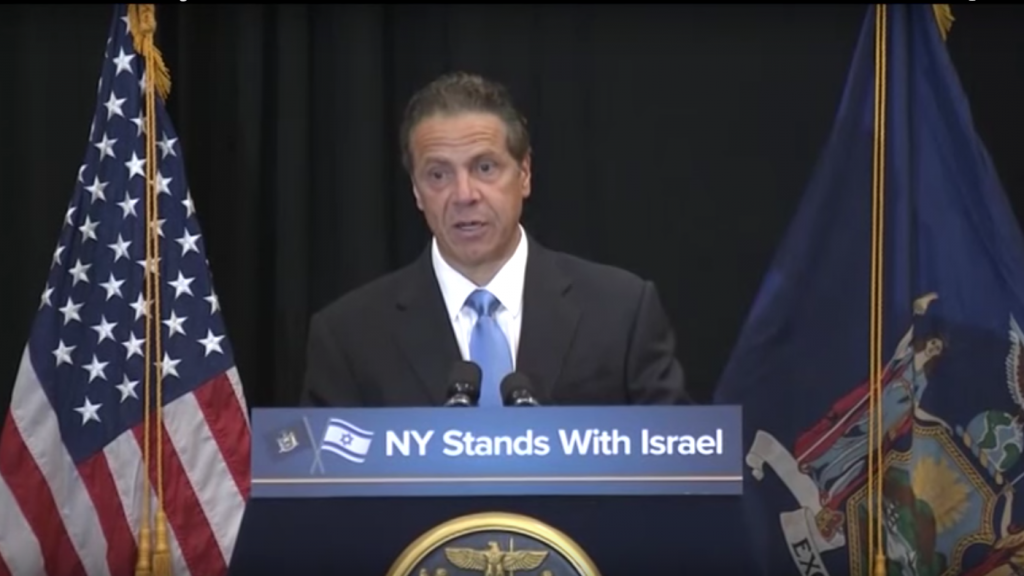 NY Gov. Cuomo Announcing Executive Order 157