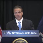 NY Gov. Cuomo Announcing Executive Order 157
