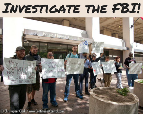 Investigate the FBI!