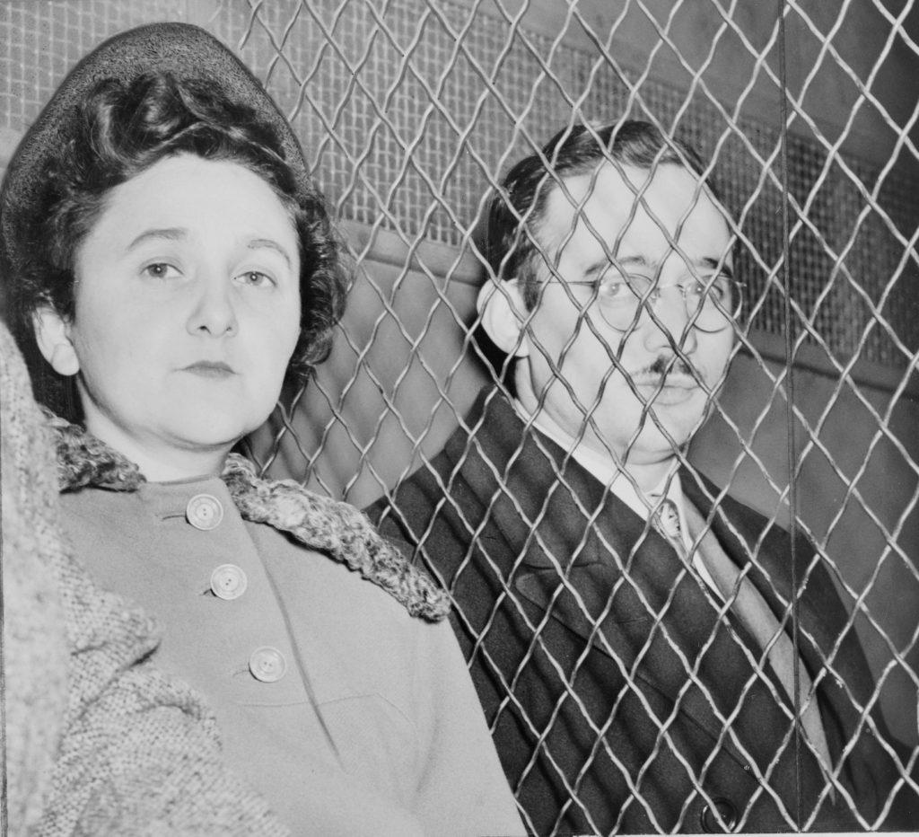 old photo of julius and ethel rosenberg