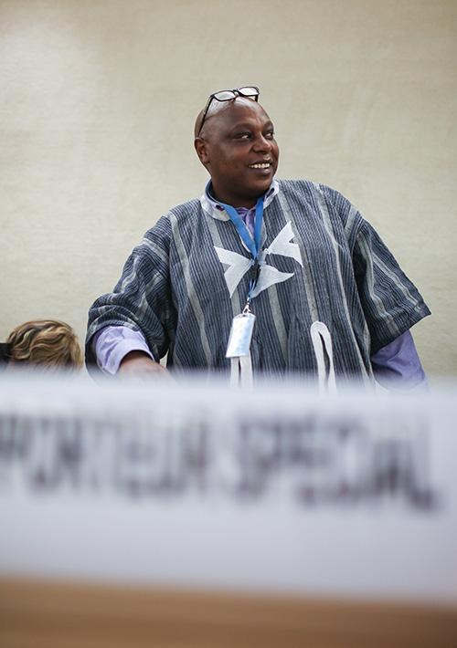 smiling Maina kiai, UN Special Rapporteur